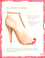 Claudia Lynch ShoeStories - Bare Foot Shoe