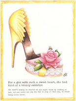 Claudia Lynch ShoeStories - Candy Box Shoe