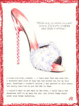 Claudia Lynch ShoeStories - Candy Cane Shoe