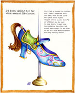 Claudia Lynch ShoeStories - Carousel Shoe
