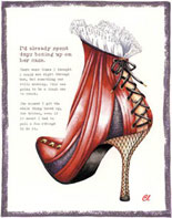 Claudia Lynch ShoeStories - Corset Shoe
