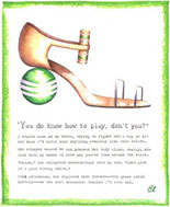 Claudia Lynch ShoeStories - Croquet Shoe