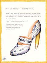 Claudia Lynch ShoeStories - Crossword puzzle Shoe