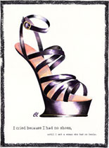 Claudia Lynch ShoeStories - No Heels Shoe