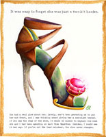 Claudia Lynch ShoeStories - Reindeer Shoe