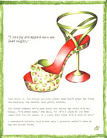 Claudia Lynch ShoeStories -  Strappy Martini Shoe