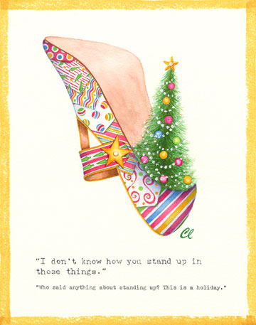 Christmas Shoe Tree.Claudia Lynch Shoestories Christmas Tree Shoe